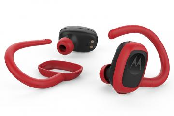Motorola Stream Sport Earbuds with Charging Case