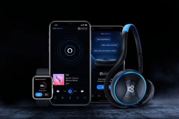 66 Audio Pro Voice Headphones with Alexa Built-in