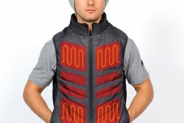 FNDN Heated Vest for Winter Action