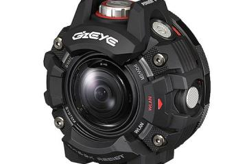 Casio G'z Eye GZE-1 Rugged Action Camera