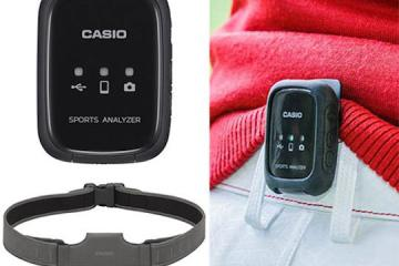 Casio Hip Speeder Wearable Swing Sensor
