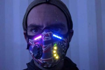 DIY: LED Breath Stats Mask