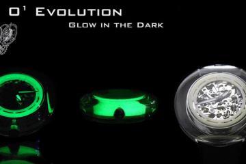 O1 Evolution Glow in the Dark Watch