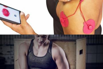 POWERDOT Smartphone Controlled Muscle Stimulator
