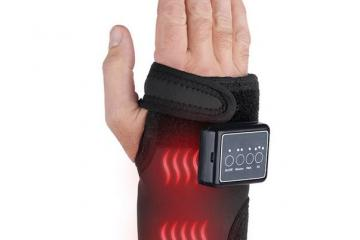 This Hand/Wrist Massager Improves Circulation with Heat, Vibration