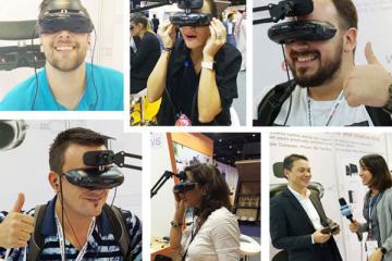GOOVIS Cinego Wearable 3D Theater