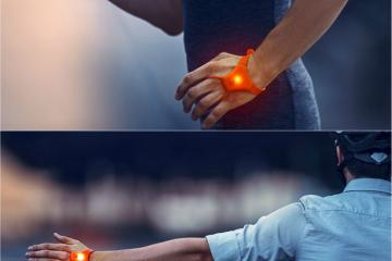 SeniTurn Wearable Lights for Cyclists
