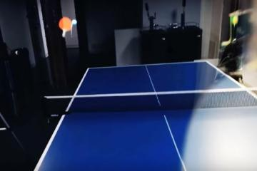 Ping Pong on North Star AR Headset