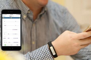 HabitAware Keen: Habit Tracking Smart Bracelet