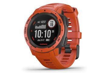 Garmin Instinct Rugged Outdoor Watch with GPS, GLONASS, Galileo