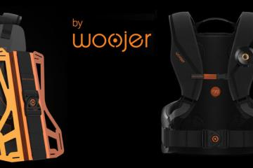 Woojer ryg Haptic Gaming Vest for VR
