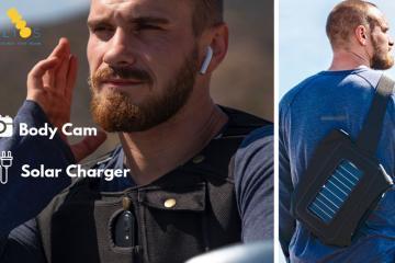 HELIOS: Solar Body Cam Harness