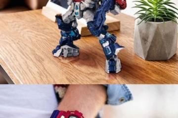 This G-Shock Watch Transforms Into Optimus Prime