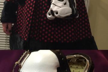 Stormtrooper Clutch Purse for Star Wars Fans