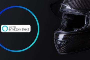 JARVISH X-AR Smart Helmet with Alexa
