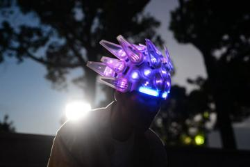 Automaton Motorized LED Helmet with App Control