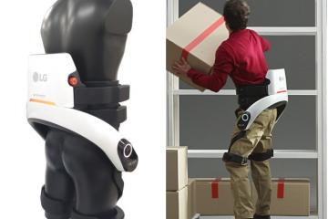LG CLOi SuitBot: Wearable Robot Reduces Worker Fatigue