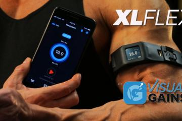 XLFLEX: Smart Wearable That Tracks Your Arm Size