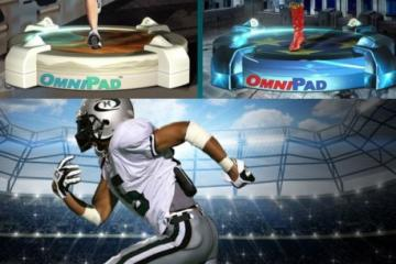 OmniPad Circular Virtual Reality Treadmill