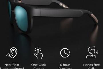Mutrics: Smart Sunglasses with Surround Sound & Bluetooth 5.0