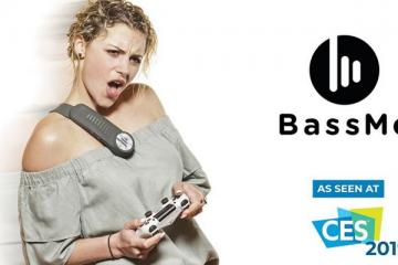 BassMe Wearable Subwoofer