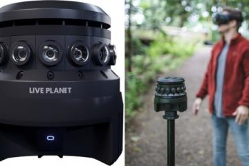 Live Planet 360 3D VR Camera with 16 Lenses