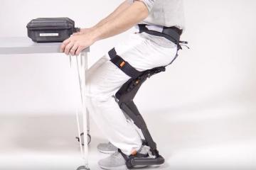 Chairless Chair 2.0: Wearable Chair from noonee
