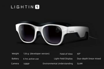 Guangli's Light-Field AR Glasses – LIGHTIN 1