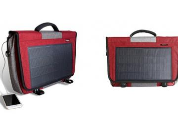 HANERGY 8W Solar Laptop Bag