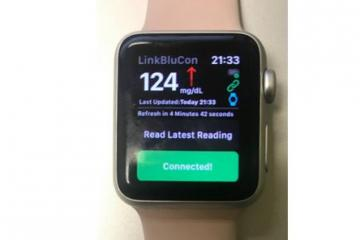 NightRider BluCon Enables Continuous Glucose Monitoring on Apple Watch