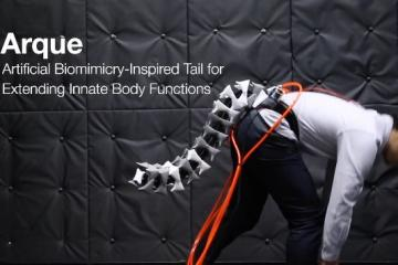 Arque: Robotic Tail That Helps Your Balance