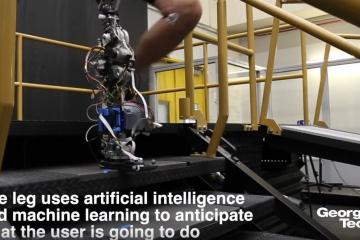 Georgia Tech Prosthetic Leg with AI & Machine Learning
