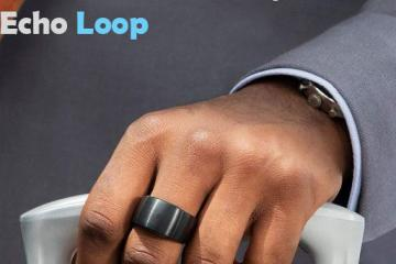 Echo Loop – Smart Titanium Ring with Alexa