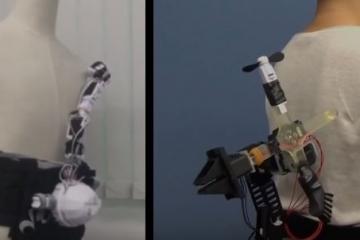 HapticSnakes: Multi-haptic Feedback Snake-like Robots