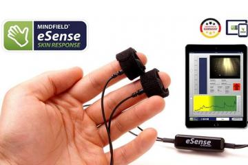 Mindfield eSense Biofeedback Trainer with App