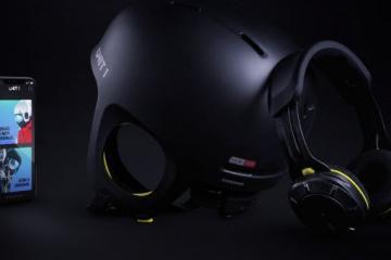 UNIT 1 Ski Helmet with Walkie-Talkie, Wireless Audio