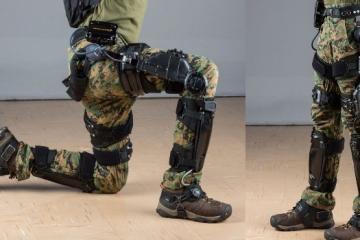 Lockheed Martin's ONYX Exoskeleton Reduces Soldiers' Fatigue