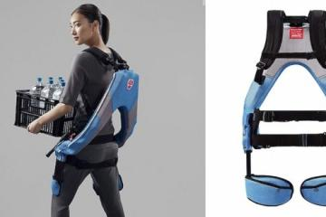 Muscle Suit Every: Wearable Exoskeleton for Heavy Lifting