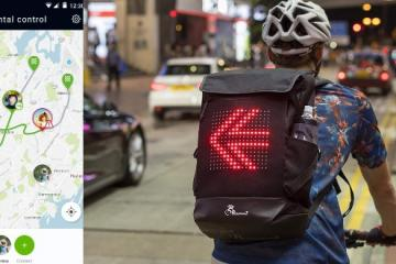 Roadwarez Street Warrior Bluetooth-Enabled Cycling Backpack