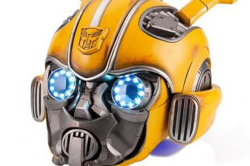 Bumblebee Wearable Helmet with Speaker & Voice Control