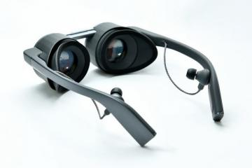 Panasonic's HDR Virtual Reality Eyeglasses
