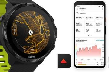 Suunto 7 GPS Sport Smartwatch with Wear OS