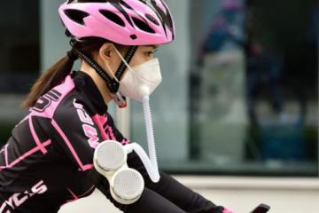 FitAir Wearable Air Purifier with N95 Mask