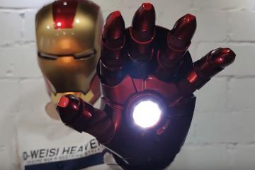 Killerbody Iron Man MK7 Armor Gauntlet