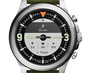Fossil Men's Latitude Hybrid HR Smartwatch