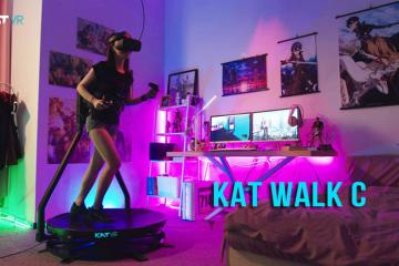 KAT Walk C Virtual Reality Treadmill