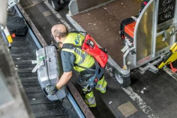 Cray X Carbon Fiber Robotic Exoskeleton for Workers