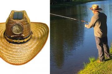 Kool Breeze Hat with Solar Fan