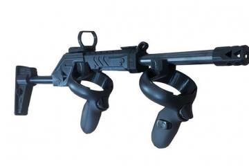 Magnetic VR Rifle Gunstock for Oculus Quest