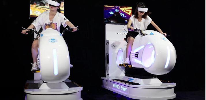 FunVR VR MotorBike Simulator